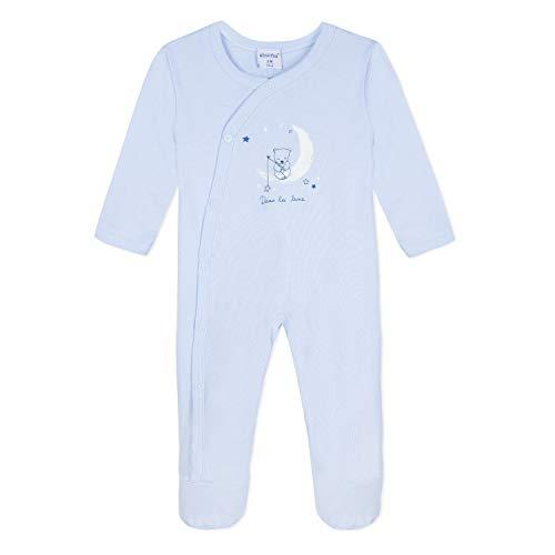 Absorba 9N54013 Playwear Ensemble de Pyjama, Bleu (Light Blue 41), 1 an (Taille Fabricant:1A) Bébé garço