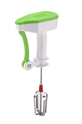 Lemish Nestwell Egg Beater Lassi Butter Milk Maker Mixer Power Free Hand Blender-Green
