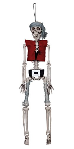 Figur Skelett Pirat, Dekorationen, Circa 42 cm ()