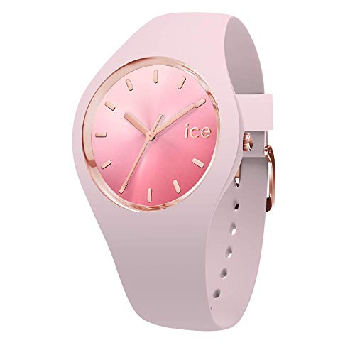 Ice Watch Womens Analogue Quartz Watch with Silicone Strap 15747