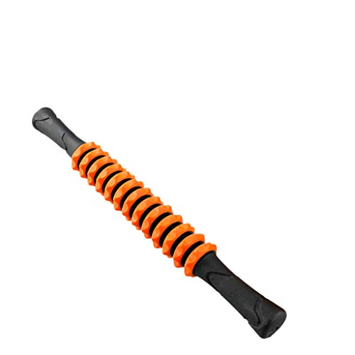 MA87 Yoga Muscle Massager Gear Massage Faszien Sport Fitness Roller Massager Roller (Orange) (Massage-roller-handschuh)
