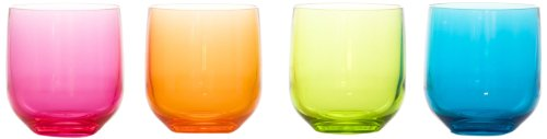 idelice-ar596-720a-lot-de-4-verres-en-acrylique-rose-orange-vert-bleu-320-ml
