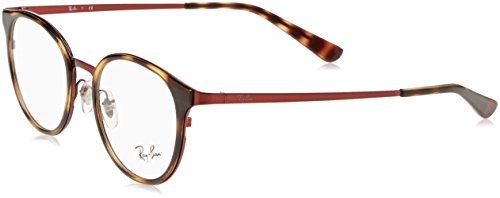 Ray-Ban Damen Brillengestell 0rx 6372m 2922 50, Rot (Brushed Bordo)