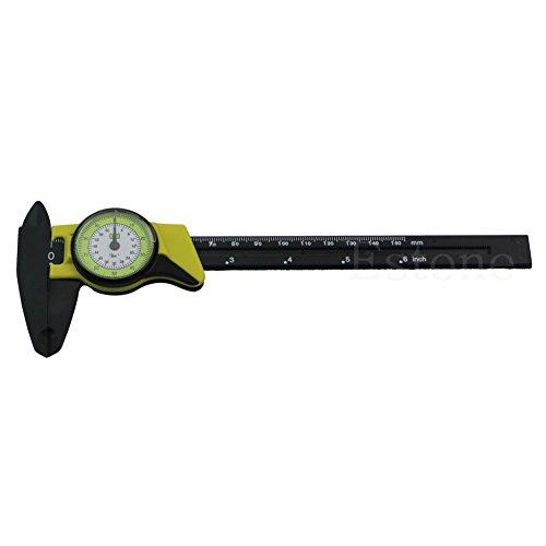 ZChun 1 stück Dial Caliper 6 Zoll 150mm Kunststoff Messschieber 4 Way Gauge Mikrometer Neu - Digital Dial Caliper