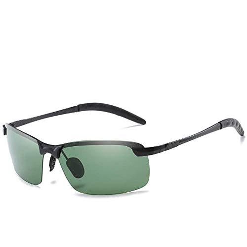 APJJ SonnenbrilleMen ' S polarisierte Sonnenbrille Sport Sonnenbrille Men ' S Nachtspiegel Metallic-Sonnenbrille für den Außenbereich,J