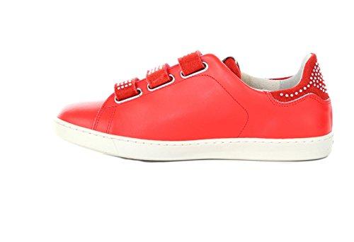 SXX003P001581561 Liu Jo Sneakers Femme Cuir Orange Orange