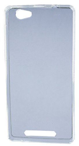 FCS Transparent Silicon Back Case For Xolo Era 4G in Glossy Finish-White