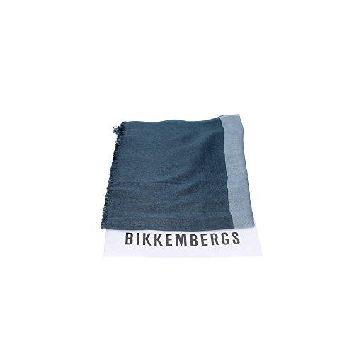 Bikkembergs SCR 11719 Pashmina Borse & Accessori Modal BLU/CELESTE BLU/CELESTE TU