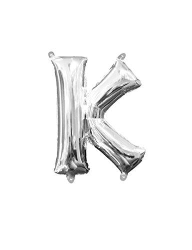 Amscan 330320140,6cm Buchstabe K Mini Form Folie Ballon (K Dress Up Kostüme)