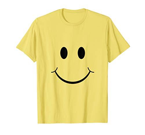 Smiley T-Shirt Gelb-- Damen -- Herren -- Kinder
