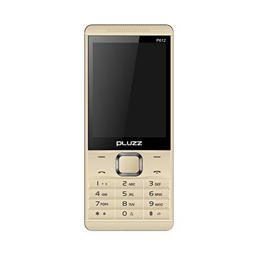 Fulltime E-Gadget 2.8 Zoll Funktionale Telefonkamera LED-Taschenlampe FM Dual SIM-Karte großer Lautsprecher Handy (Gold)