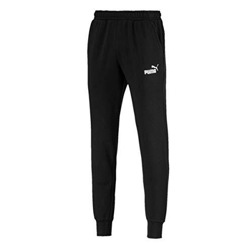 PUMA Herren ESS Logo Pants TR cl Hose, Black, L