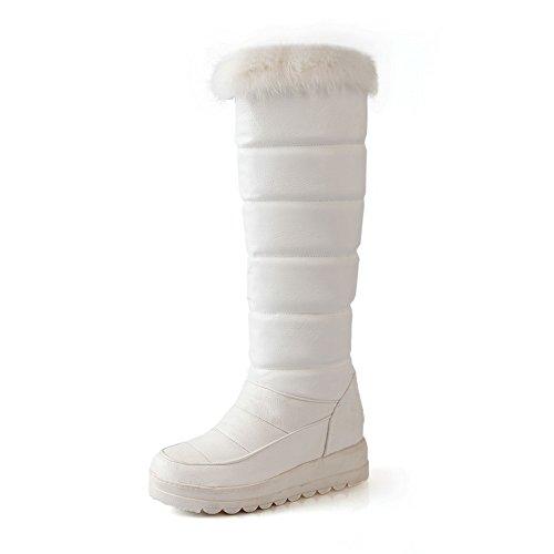 A&N - Stivali da Neve donna White