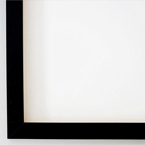Bilderrahmen Oldenburg 1,7 - Schwarz - Alle Größen und über 500 Varianten zur Auswahl -...