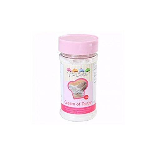 El tártaro, también conocido como crema de tártaro, es una sal natural que se obtiene de la producción del vino que, normalmente, se utiliza en combinación con bicarbonato de sodio, como gasificante en productos alimentarios.Ingredientes: potassium t...