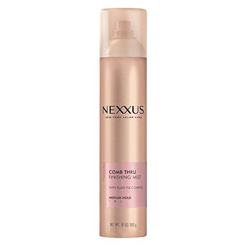 Nexxus - Laque capillaire de finition Comb Thru - Tenue naturelle - 295 ml (Lot de 4)