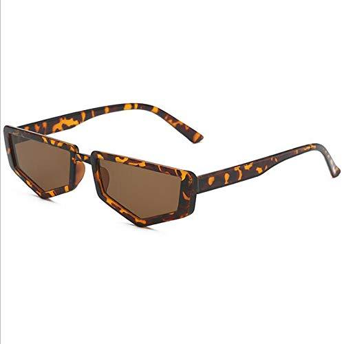 CPHGG Herren Polarisierte Sonnenbrille Retro Persönlichkeit Polygon Kleine Rahmen Sonnenbrille Männer und Frauen Trend Street Shooting Konkave Form Wilde Sonnenbrille