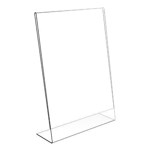 Displaypro - Soporte para carteles y menús (A5, plástico)