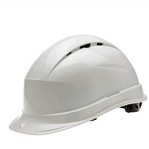 GGYJ-Radsport Anti-Smashing Höhensonnenschutz Schutzkappe Schutzhelm Belüftung Baustellenbau Führungskappe,Fahrradzubehör (Farbe : Weiß, Größe : Free Size)