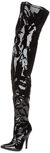 Erogance Lack High Heels Crotch Overknee Stiefel A3623L / EU 43
