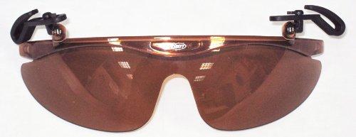 Brett Bros Baseball GAP Flip Sonnenbrille, schmal, Braun