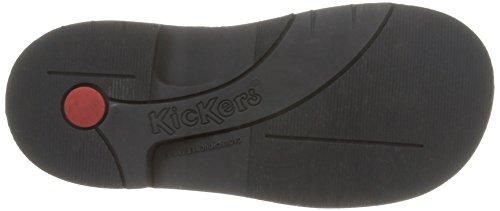 Kickers Kick Colz, Bottes Classiques mixte enfant Bleu (Marine/Camel)
