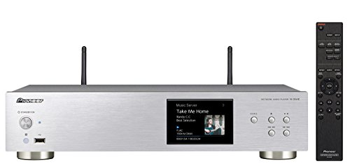 Pioneer N-30AE-S - Network media player (reproductor de CD, reproductor de red, radio digital y por Internet), color blanco