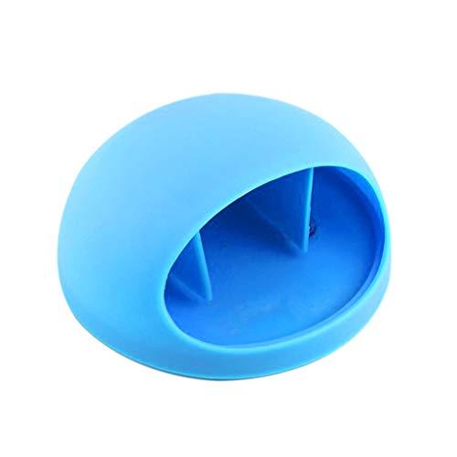Happy-day Tassenregal für Zuhause, Badezimmer, Zahnbürste, Wandhalterung, Saugnapf, blau,