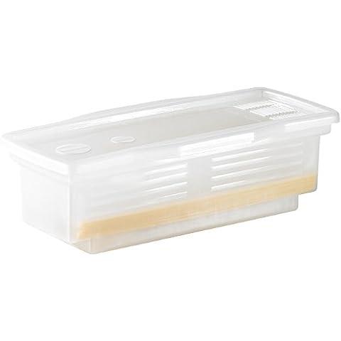 Rosenstein & Söhne - Fiambrera para cocer pasta en microondas