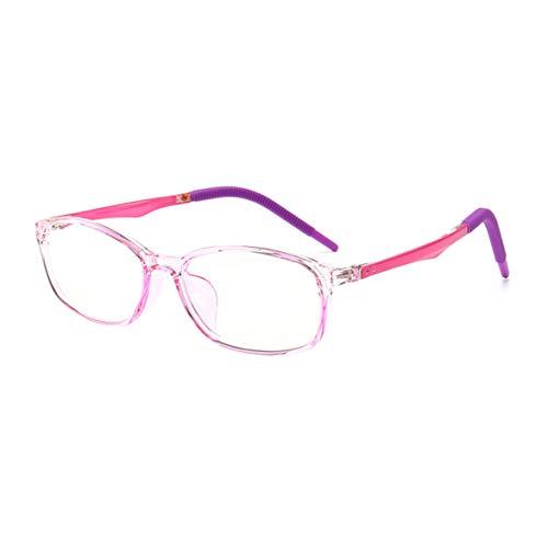 Anti Ermüdung TR90 der Augen des Kindes Schützen Brille (Brillen ohne Grad) Blaue Licht Filter Brille transparente linse