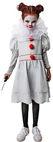Gojoy shop- Disfraz Payaso Asesino Niñas Halloween