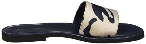Strenesse Slipper, Mules femme Multicolore - Mehrfarbig (white-blue fancy 808)