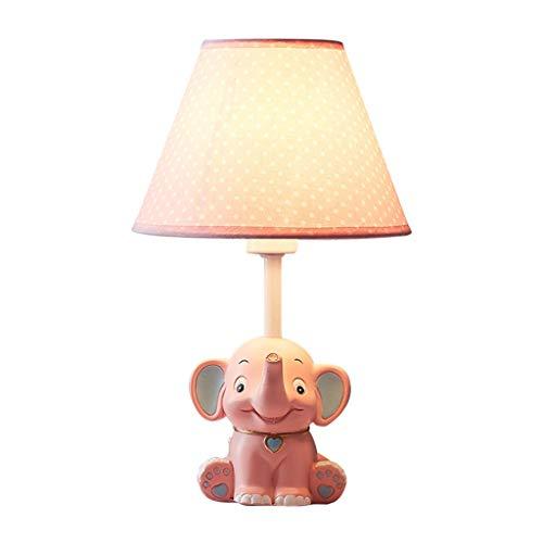 Lámpara de Mesa de Resina for bebés Elefantes, lámpara de Sala de...