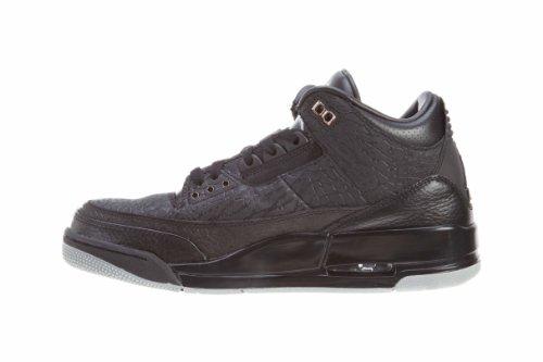 "Mens Air Jordanretro ""Flip Noir"" Trainer Sport Shoes Black/Metallic Silver"