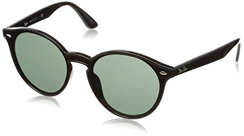 Ray-Ban Rb4380Nf Blaze Runde Sonnenbrille, Schwarz Grün
