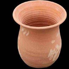Crétoise traditionnel fait main Pot en terre cuite/Petit plantaire – \\