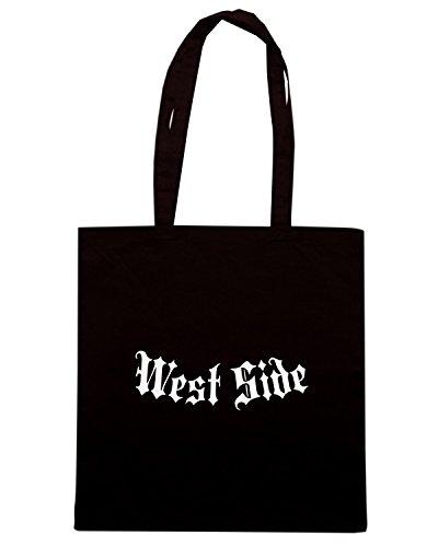 T-Shirtshock - Borsa Shopping FUN0507 affwestside black Nero