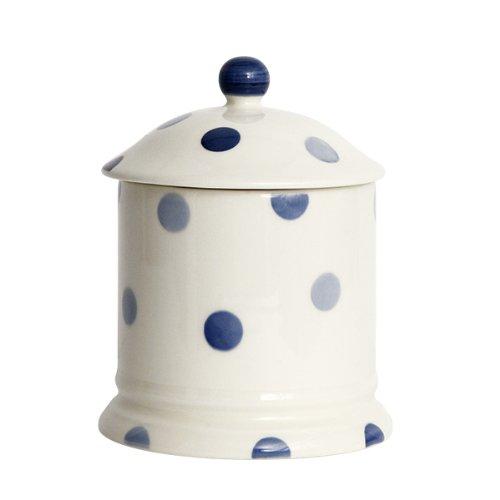 Blue Spot en faïence Bleu/crème
