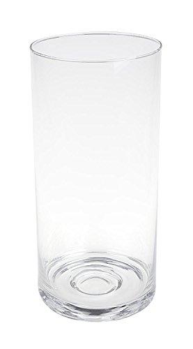 as Flair 26cm hoch Deko Blumenvase rund Dekovase (Runde Glas-vasen)