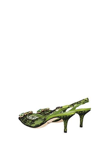 Sandales Dolce&Gabbana Femme - Dentelle (C19002AF594) EU Vert