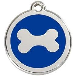 Red Dingo Médaille Chien Bleu Os 38 mm