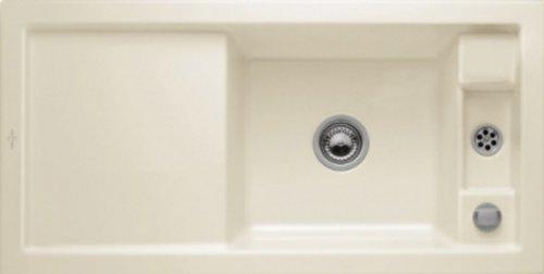 Preisvergleich Produktbild Villeroy & Boch Metric Art 60 Ivory Beige Keramik Auflagespüle Einbau-Spüle