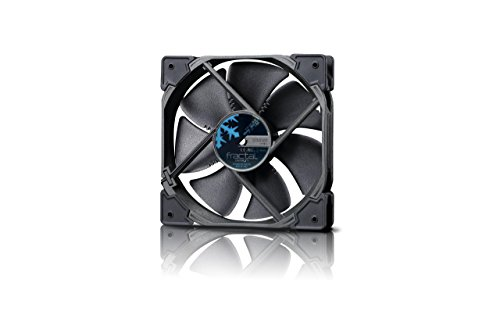 Fractal Design Venturi HP-12 PWM Black, Lüfter für (High End) Gaming PC Gehäuse, schwarz