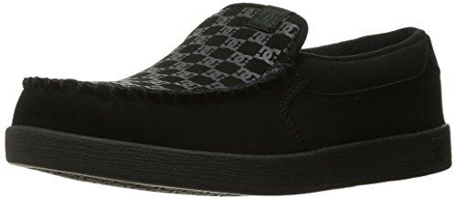 DC Shoes Men's Villain Slip-On Low Top Shoes Print Black -16