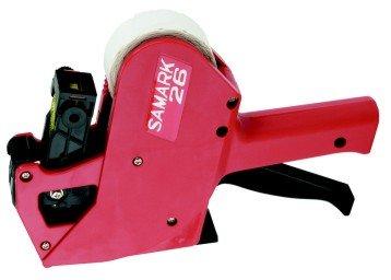 Preisauszeichner SAMARK 26Price & Kennzeichnung Gun, Single Line, 8Zeichen