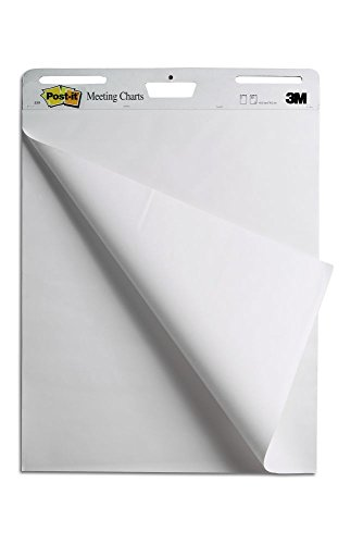 Post-it MC559 Super Sticky Meeting Chart 1 (63,5 x 76,2 cm) Block 30 Blatt weiß