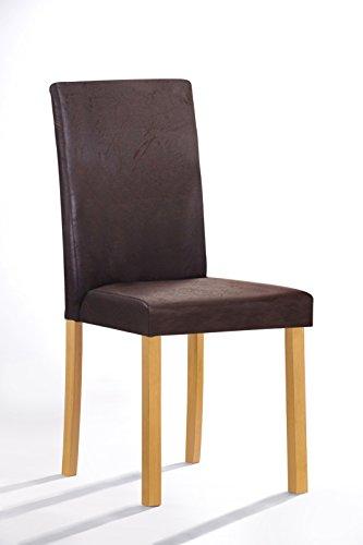 SAM® Polster Stuhl Billi, Esszimmer Stuhl, Massive Holzbeine, Design Stuhl,  Küche Und Esszimmer
