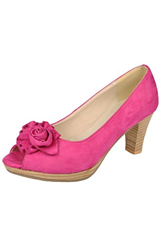Ludwig und Therese Trachten Schuhe Lydia pink D500024 38