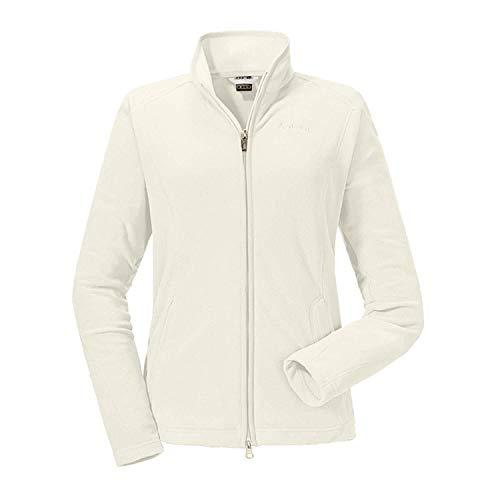 Schöffel Fleece Jacket Leona2 Damen Jacke, leichte und warme Fleecejacke mit praktischen Taschen, atmungsaktive Outdoor Jacke für Frauen