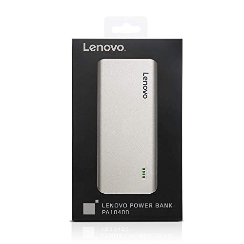 (Renewed) Lenovo PA10400 10400mAH Lithium Ion Power Bank (Silver) Image 5